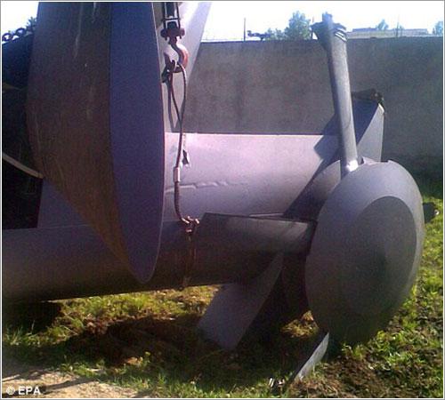 Detalle del rotor de cola