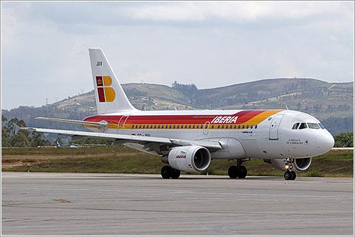 Iberia rodando por Wicho