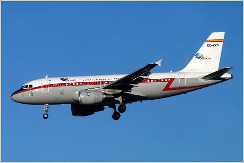 Iberia EC-KKS