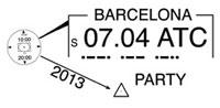 Logo Barcelona ATC Party 2013