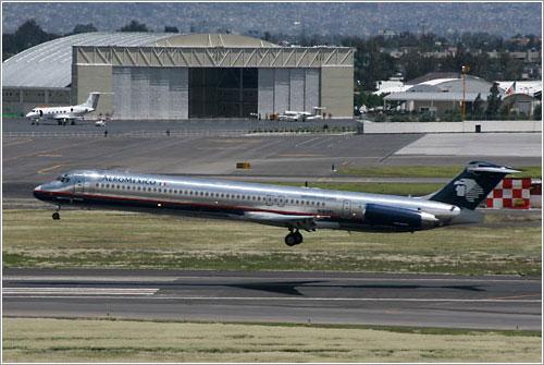 MD-80 de Aeroméxico