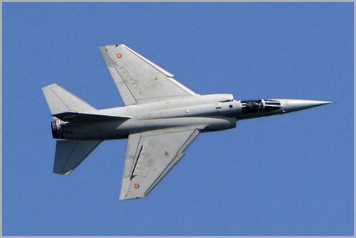 Mirage F-1 del Ejército del Aire durante Aire 06