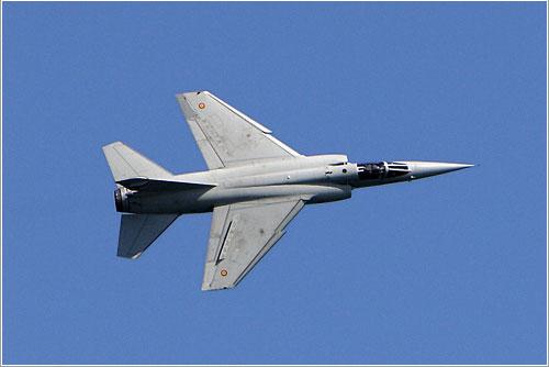 Mirage F.1 del Ejército del Aire durante Aire 06 - Javier Pedreira (Wicho)