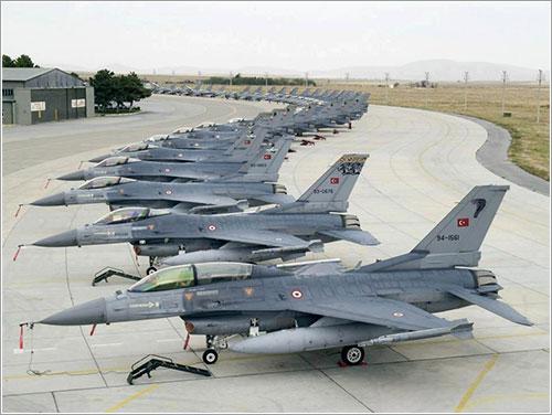 Mogollón de F-16