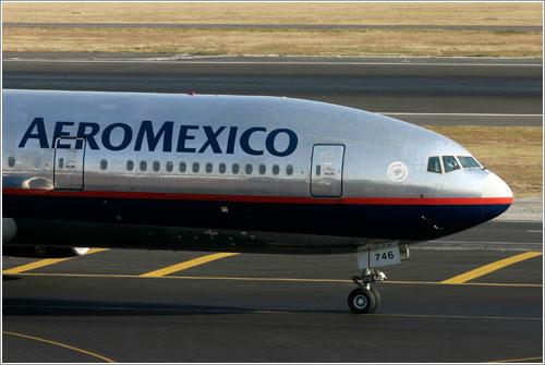 Avión de Aeroméxico
