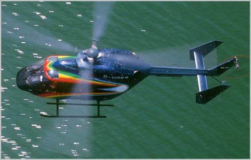Helicóptero con rotor de cola
