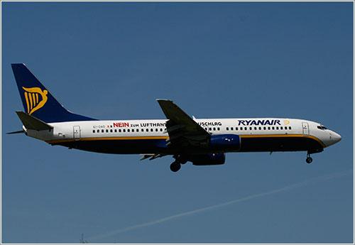 Nein zum Lufthansa de Ryanair