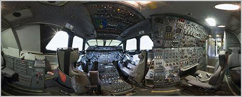 Panorámica de la cabina de un Concorde - Ken McBride/Museum of Flight