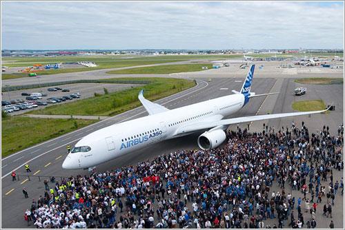 Primer A350 terminado de pintar