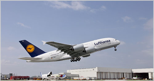 Primer A380 de Lufthansa - Airbus