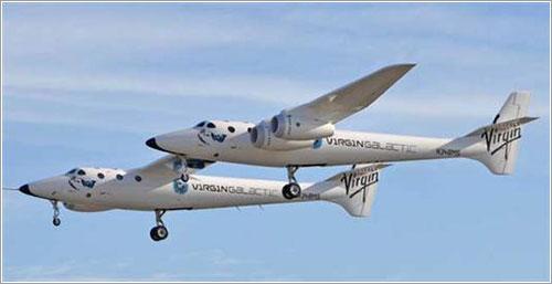 Primer vuelo del WhiteKnightTwo - Bill Deaver / Mojave Desert News