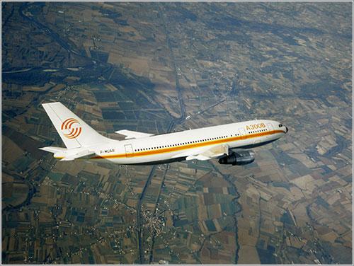 Prototipo del A300B en vuelo