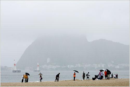 La lluvia hace acto de presencia en Río - RBAR