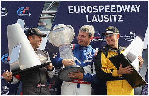 Podio del campeonato de 2010