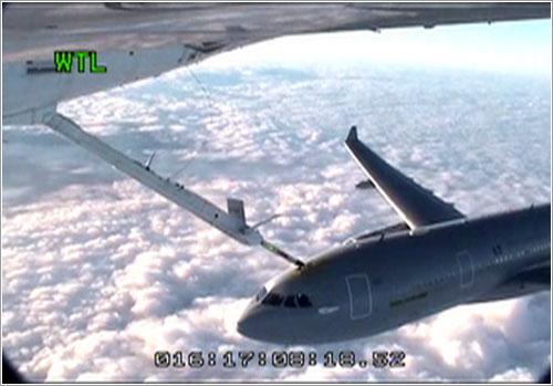 Momento del primer contacto - Airbus Military