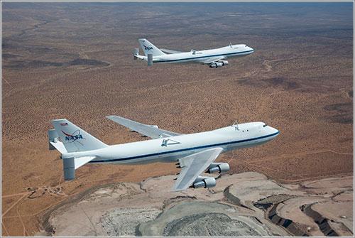 Los SCA juntos - NASA/Carla Thomas