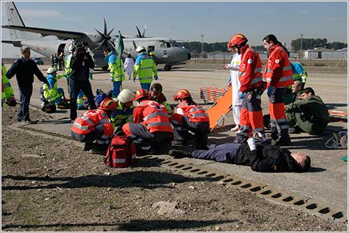 Operación de rescate en marcha