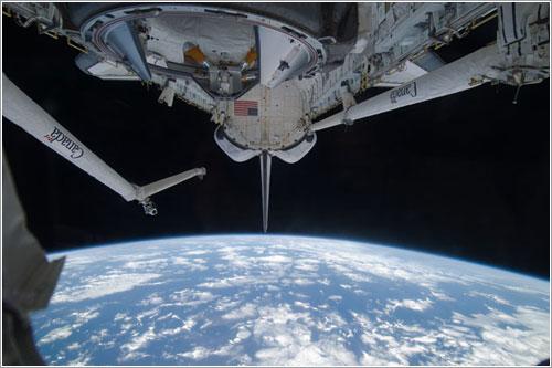 La Tierra vista desde el Discovery - NASA