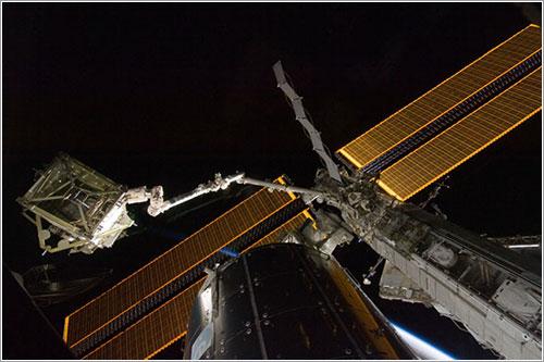 El segmento S6 esperando - NASA