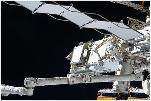 Swanson durante el paseo espacial - NASA