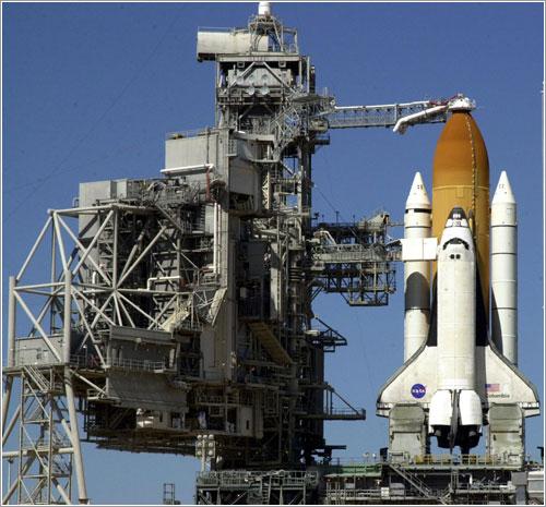 La RSS apartada del transbordador - NASA