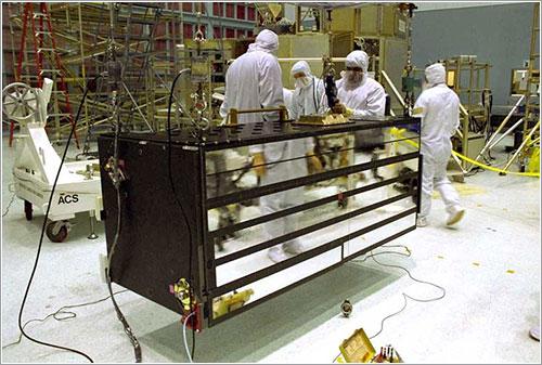 La ACS en el centro espacial Goddard - NASA