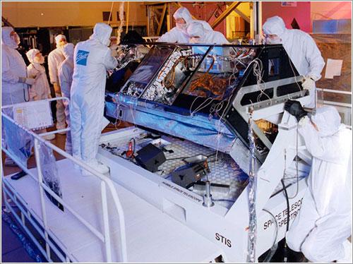 El STIS en construcción - NASA