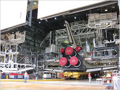 STS-125 Vuelta al VAB 3