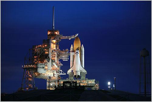 Atlantis listo para el lanzamiento - NASA/Dimitri Gerondidakis