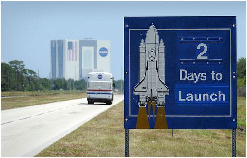 A dos días del lanzamiento - NASA/Bill Ingalls