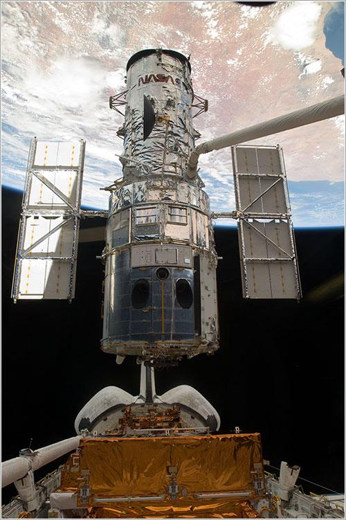 Suelta del Hubble - NASA