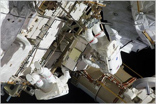 Cuarto paseo espacial de la misión - NASA