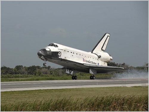 Aterrizaje - NASA/Kim Shiflett