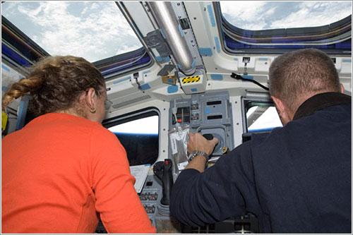 Inspección del escudo térmico - NASA