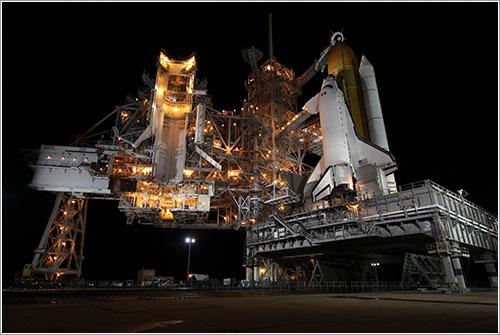 El Endeavour listo para el lanzamiento - NASA