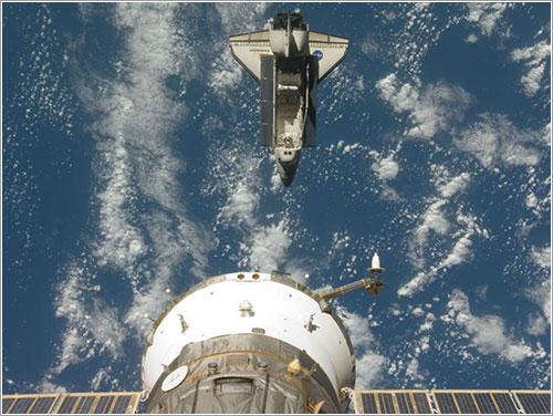 Separación de la ISS - NASA