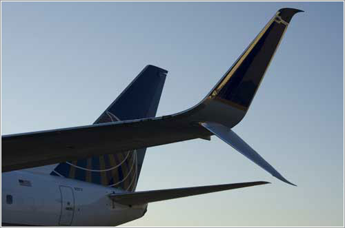 Split Scimitar Winglets