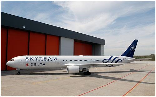 Logojet SkyTeam - Delta Airlines