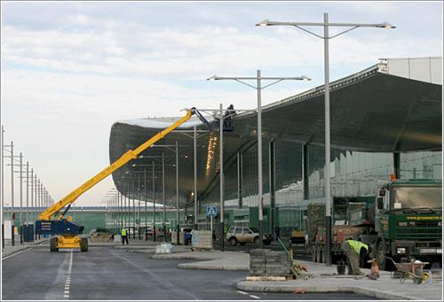 Obras en la nueva terminal