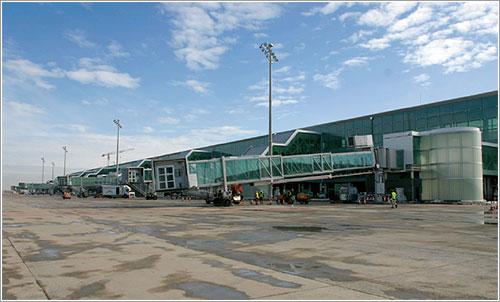 Diques de la nueva terminal
