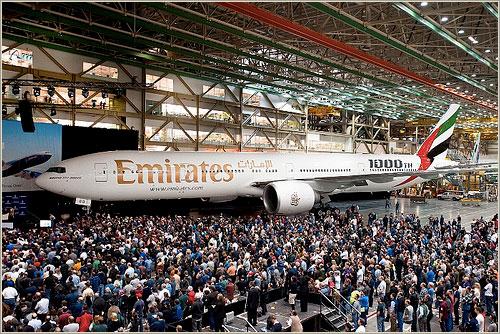 Treiple 7 número 1.000 - Boeing