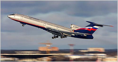 Tu-154 de Aeroflot