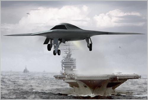 X-47B UCAS / Northrop Foto: Grumman