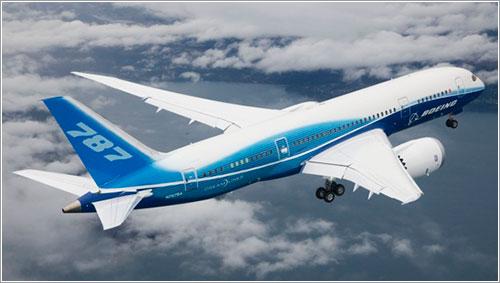 ZA001 en vuelo - Boeing