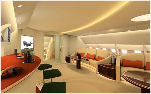 Cómo sería un A380 estilo VIP