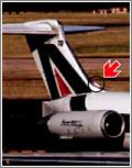En los DC-9 se usa aire exterior para refrigerar el sistema de aire acondicionado