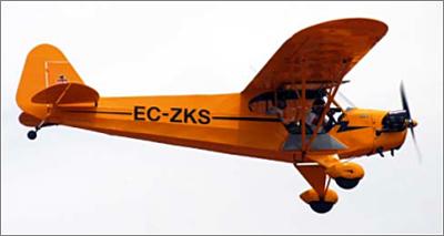 Con el suficiente viento en cara, un avión puede imitar a un helicóptero