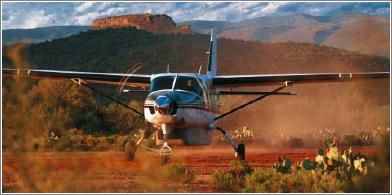 El Caravan pese a sus accidentes continúa siendo un avión seguro.
