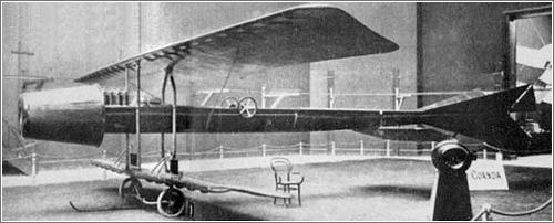 Coanda 1910 Primer avión a reacción