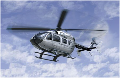 Eurocopter EC145 de Mercedes-Benz: imagen 3-D